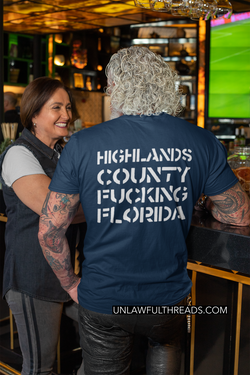 Highlands County F*cking Florida Shirt mens and women fits