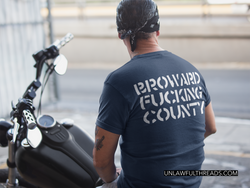 Broward Fucking County Gildan Cotton T-Shirt