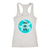 Livin Life Salty. We can only hope. m/w tanks/shirts soft (next level)