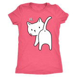 Kitty says Hi shirt m/f xoxox