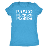 PASCO F*CKING FLORIDA shirt xoxo m/w