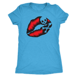 Skull Lips shirt in all sizes, colors  and cuts. If you love skulls then this is your shirt!
