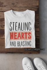 Stealing Hearts and Blasting farts ~ shirts available