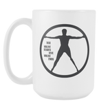 These Violent Delights have Violent Ends coffee mug white 15 oz. - Unlawful Threads