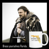 Winter isn't Coming mug-Drinkware-Unlawful Threads