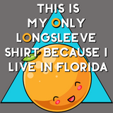 This is my only long sleeve shirt because I live in Florida shirt