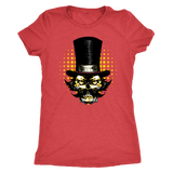 Tophat Skull shirt featuring Mr. Mustache