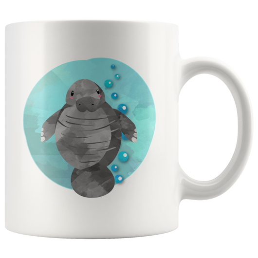Manatee mug clean version! 11 oz. mug