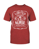 Limited Edition Nurse mens Gildan Cotton T-Shirt