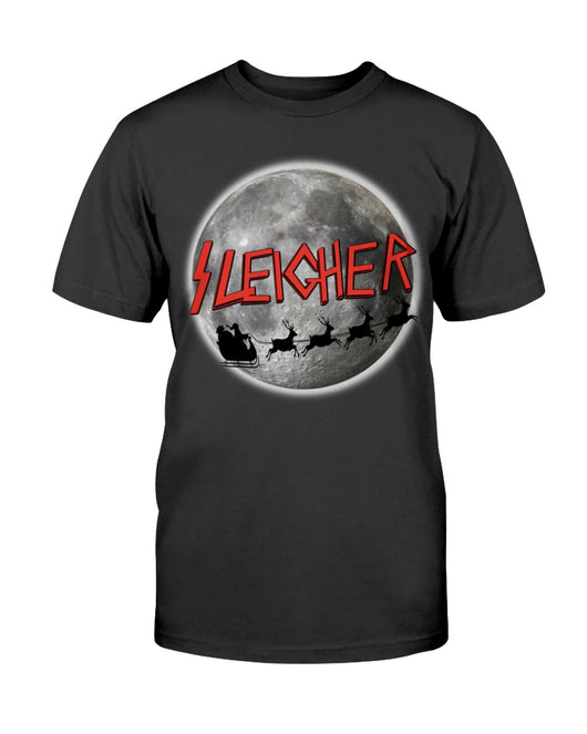 Sleigher, The Heavy Metal Santa -shirt/mug/long sleeve