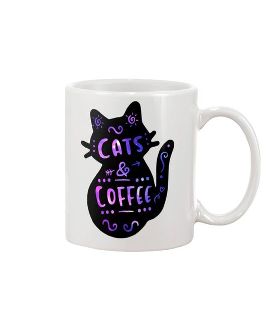 Cats and Coffee 15 ounce mug of awesomeness