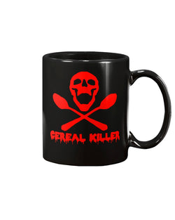 Cereal Killer 15 oz. mug and shirt