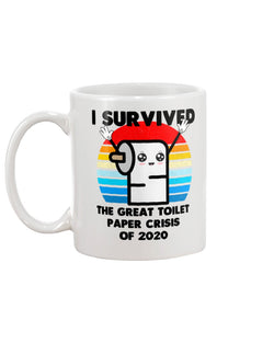 I survived the great toilet paper crisis of 2020 coffee mug 15oz Mug