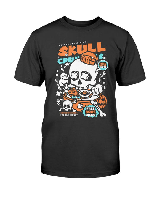Skull Crunchies Skull cereal for the damned shirts
