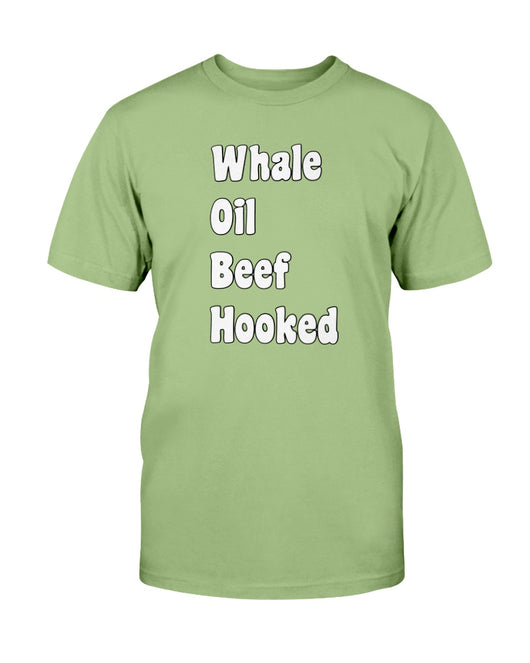 Whale Oil Beef Hooked ( how to speak Irish )shirt