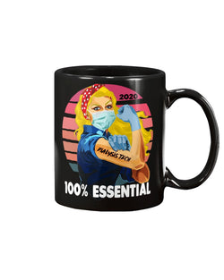 100% Essential Dialysis Tech mug 15oz Mug