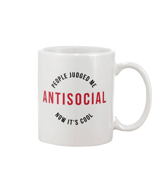 Antisocial now it's cool  coffee mug15oz Mug