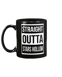 straight outta stars hollow coffee mug  15oz Mug