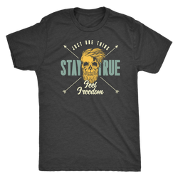 Stay true skull shirt m/w