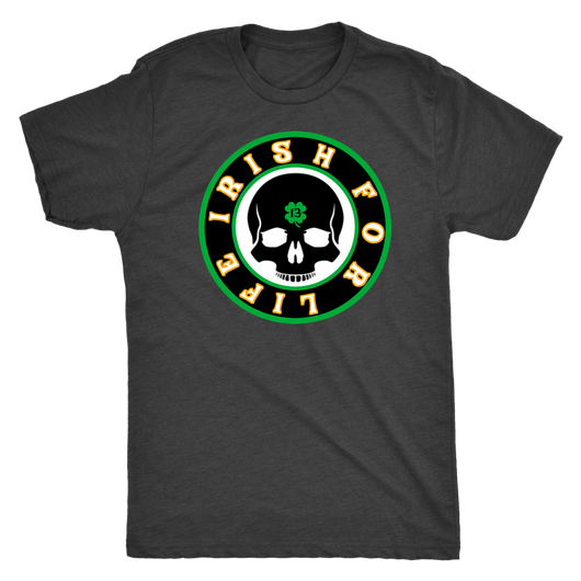 IRISH FOR LIFE Skull 13 shirt many styles many colors next level brand soft so soft