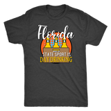 Florida, where the state sport is day drinking shirt m/w/tanks-T-shirt-Unlawful Threads