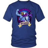 Myaah! Skeletor Coat of Arms Shirt. Wear it you Boobs! m/f several colors