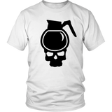 Pot head shirt. A skull full of coffee. skull tshirt m/w 4 styles