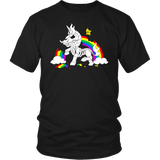 Unicorn Rainbow Death Unisex shirt - Unlawful Threads