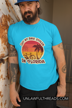 GOT MY BIKE STOLEN IN FLORIDA SHIRT M/W GILDAN
