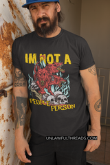 Cerebus I'm not a people person shirt mens/womens Gildan