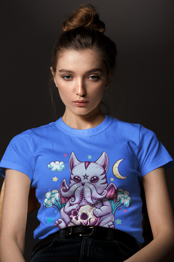 Kawaii Cathulhu C'thulhu pastel goth coffee mug 15 ounce and shirts available now