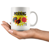 Morning Rooster lollipop, don't be a rooster lollipop mug 11 oz. 2 varieties to choose from!