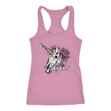 Unicorn Skulls Love shirt or tank womens