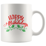 Happy Alcoholidays mug 11oz.
