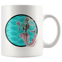 Mermaid Death Dreams mug 11 oz. 3 different colors!