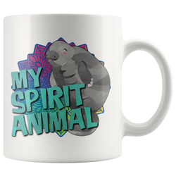 Manatee is my Spirit Animal mug 11oz.