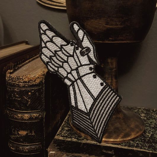 The Knight Embroidered Patch - wholesale