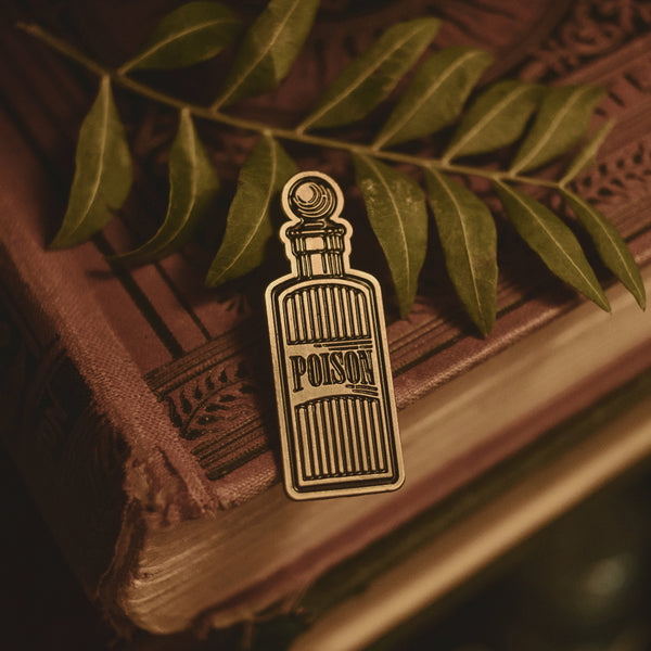 Poison Bottle Enamel Pin - Preorder
