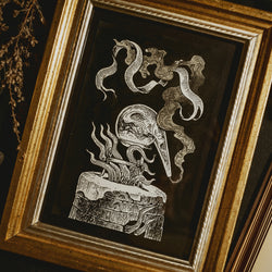 Alchemy Original Illustration - Framed