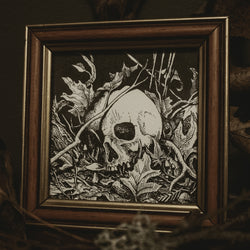 Burial Original Illustration - Framed