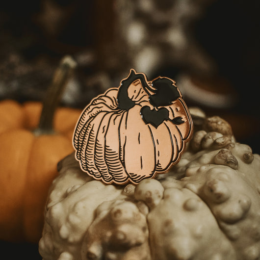 The Pumpkin Enamel Pin - Preorder