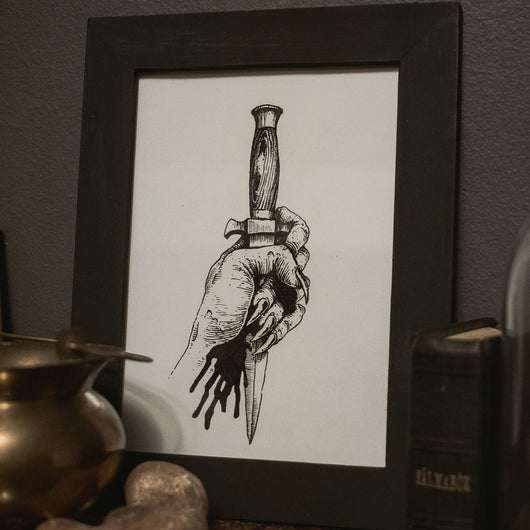 Ritual Original Illustration - Framed