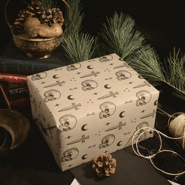 Noir Wrapping Paper