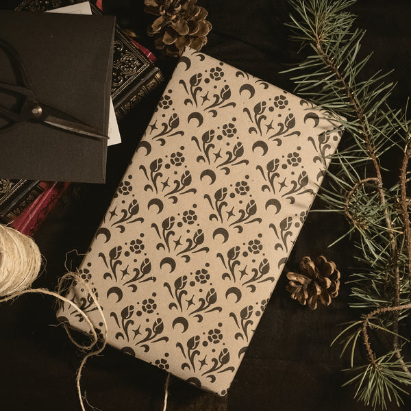 Night Bloom Wrapping Paper