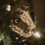Night Creatures Yule Ornament - Cat