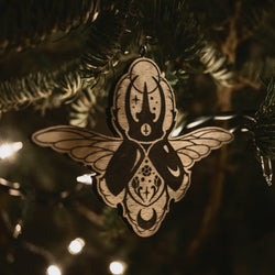 Night Creatures Yule Ornament - Scarab