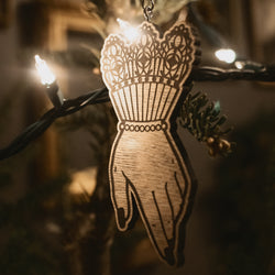 The Maiden Yule Ornament