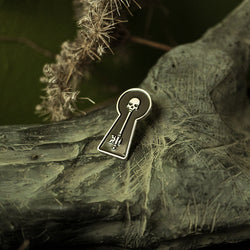 The Skeleton Key Enamel Pin