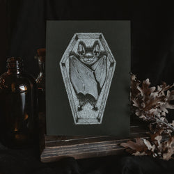 Coffin Art Print