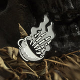 Wake up the Dead Enamel Pin - Wholesale